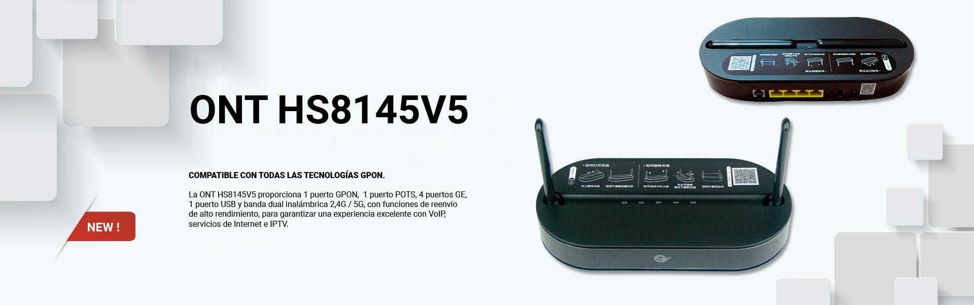 HUAWEI GPON HS8145V5 4 GE,1 POTSM